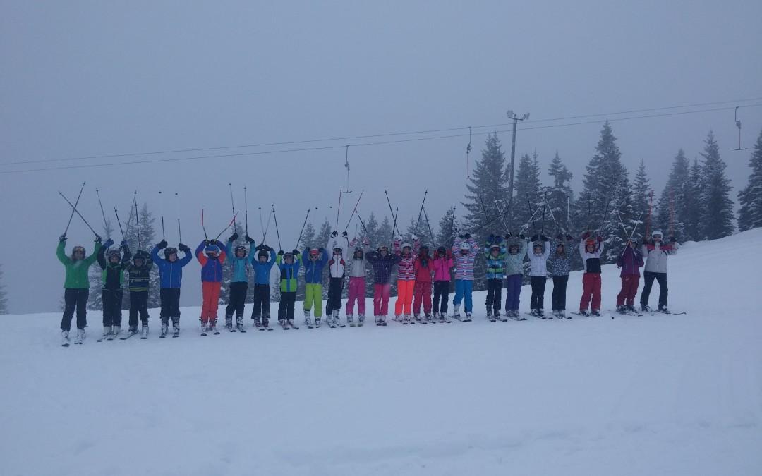 Zimska šola v naravi – prvi dan
