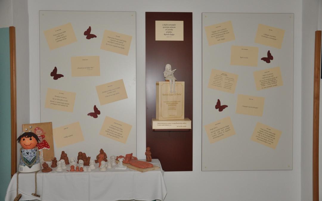 Zahvala vsem sodelujočim na likovnem natečaju Deklice Šmihelčanke z Rastočo knjigo